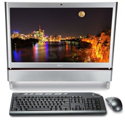 ACER Aspire Z5610,  Intel  Core2 Quad  Q8200,  DDR3 4Гб, 1Тб,  nVIDIA GeForce G240M - 1024 Мб,  Blu-Ray,  CR,  Windows 7 Home Premium,  серебристый [99.68fsk.rpn]