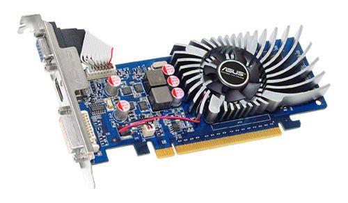 Видеокарта ASUS GeForce GT 220,  1Гб, DDR2, Ret [engt220/g/di/1gd2(lp)/a]