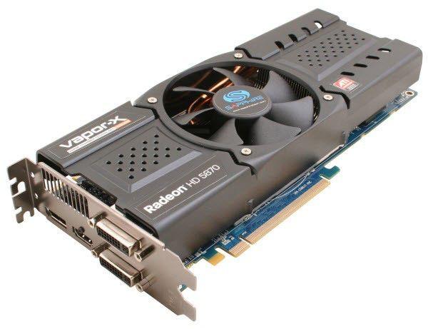 Видеокарта SAPPHIRE Radeon HD 5870,  1Гб, DDR5, Ret [21161-xx-50r]