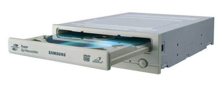 Оптический привод DVD-RW SAMSUNG SH-S223C/BESE, внутренний, SATA, серебристый,  OEM
