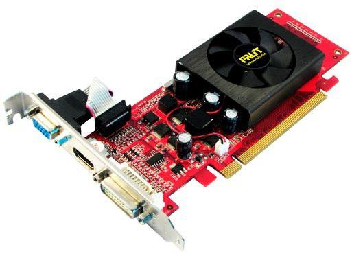 Видеокарта PALIT GeForce 8400 GS,  256Мб, DDR2, Low Profile,  Ret [ne28400sfhd26-n2181]