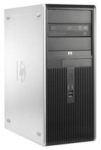 HP dc7900CMT,  Intel  Core2 Quad  Q9400,  DDR2 3Гб, 250Гб,  Intel GMA X4500,  DVD-RW,  Windows Vista Business,  черный [fu200ea]