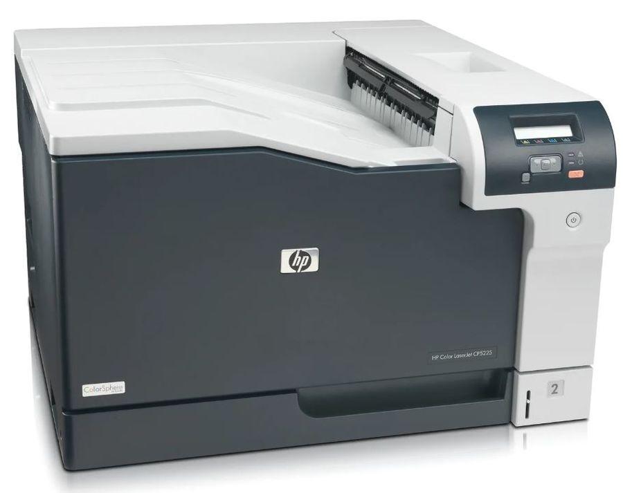 Принтер HP Color LaserJet Pro CP5225N лазерный, цвет:  серый [ce711a]