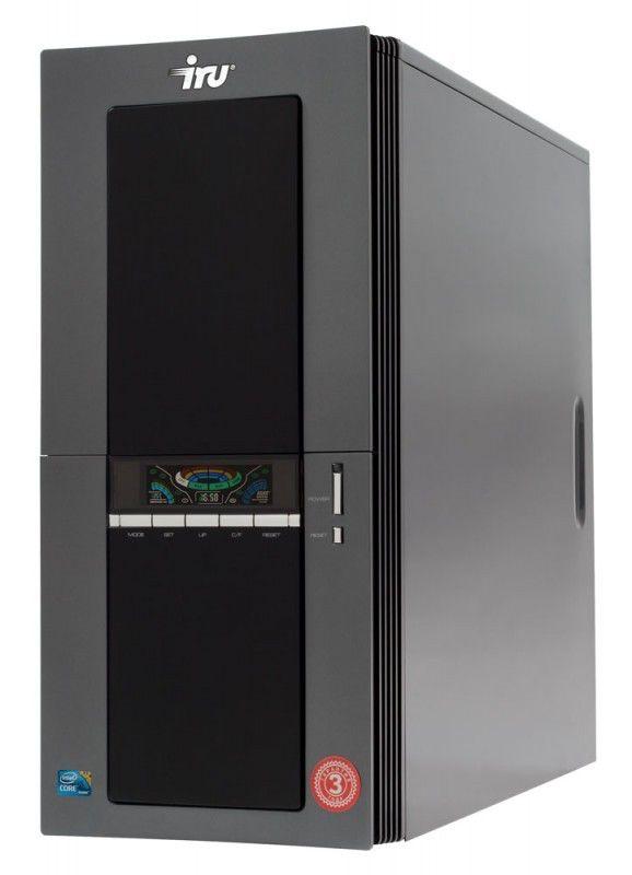 IRU Home 515W,  Intel  Core2 Duo  E8500,  DDR2 4Гб, 500Гб,  nVIDIA GeForce 9800 GT - 512 Мб,  DVD-RW,  CR,  Windows 7 Home Premium,  черный