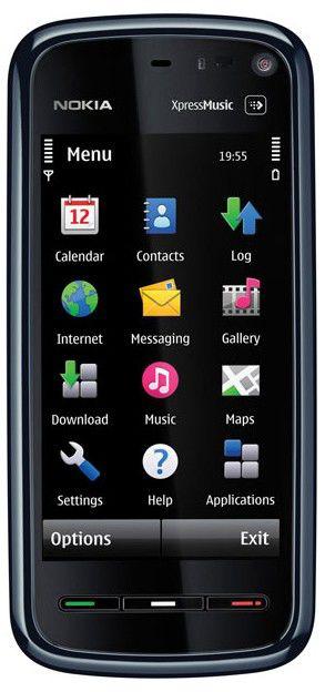 Смартфон NOKIA 5800  черный