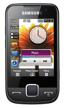 Мобильный телефон SAMSUNG S5600  серый