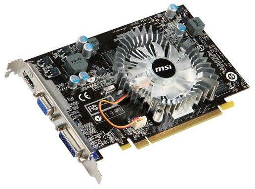 Видеокарта MSI GeForce GT 220,  512Мб, DDR2, Ret [vn220gt-md512]
