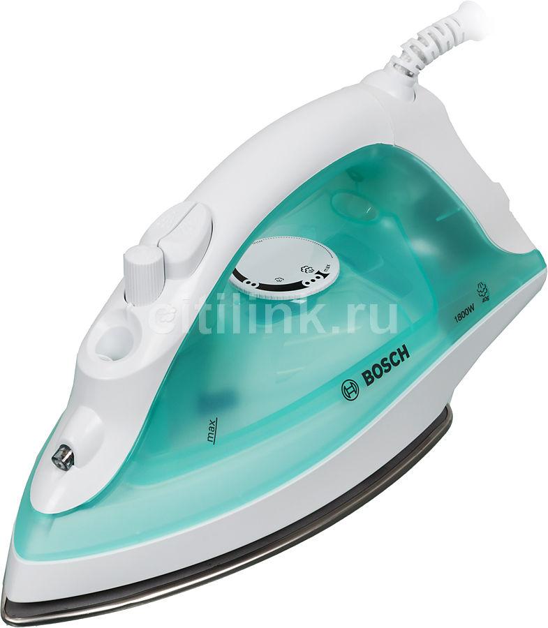 Утюг BOSCH TDA 2315,  1800Вт,  белый/ зеленый [tda2315]