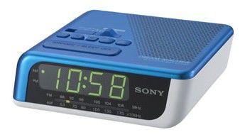 Радиобудильник SONY ICF-C205L, синий