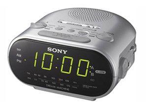 Радиобудильник SONY ICF-C318, серебристый