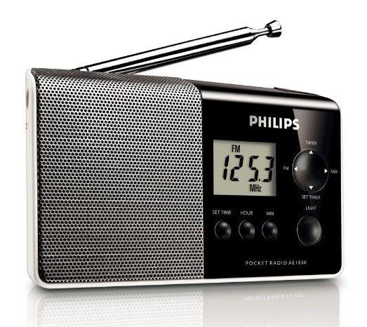 Радиоприемник PHILIPS AE1850/00,  черный