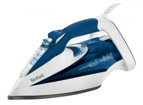 Утюг TEFAL FV9430,  2400Вт,  белый/ синий