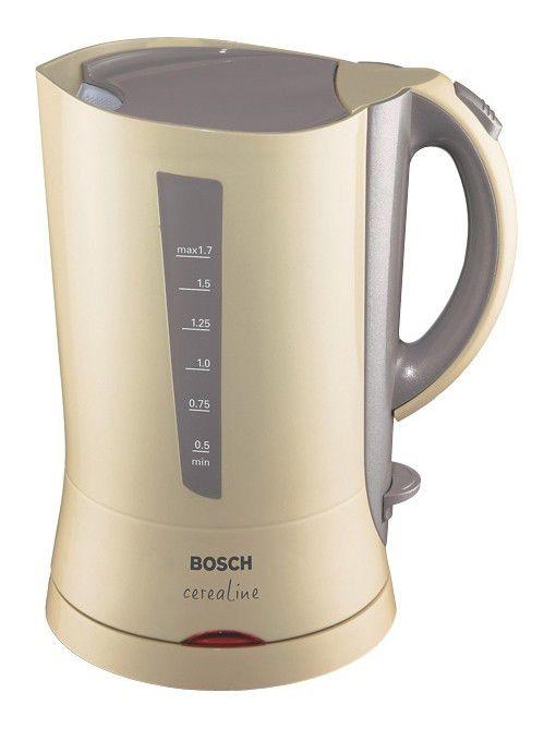 Чайник электрический BOSCH TWK7007, 2400Вт, бежевый