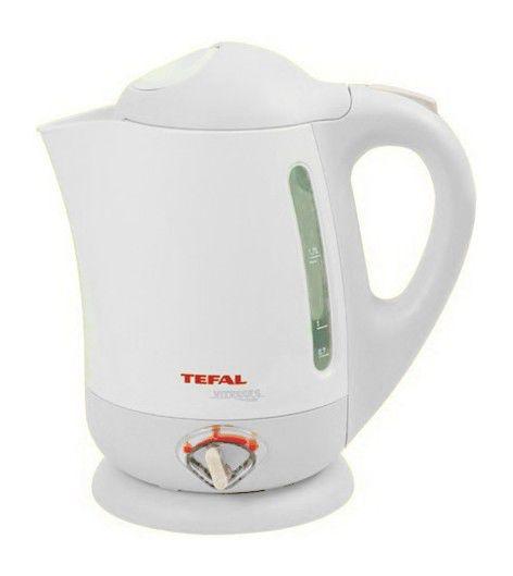 Чайник электрический TEFAL BF662040, 2200Вт, белый
