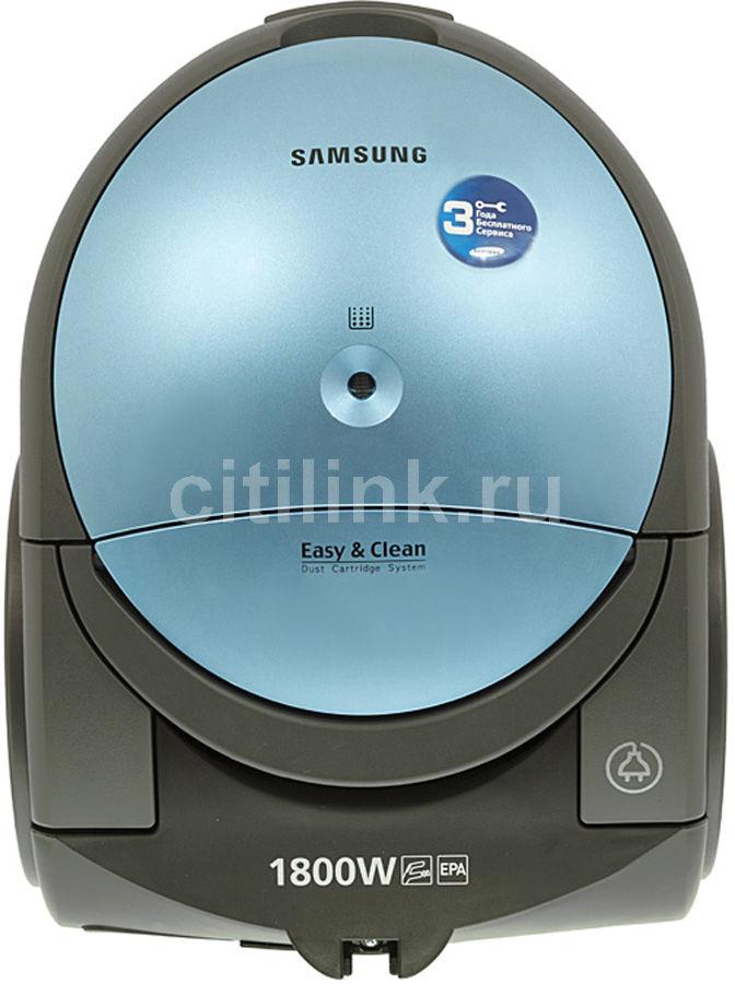 Пылесос SAMSUNG SC5150, 1800Вт, синий/черный