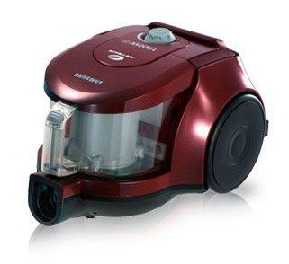 Пылесос SAMSUNG SC4350, 1800Вт, красный