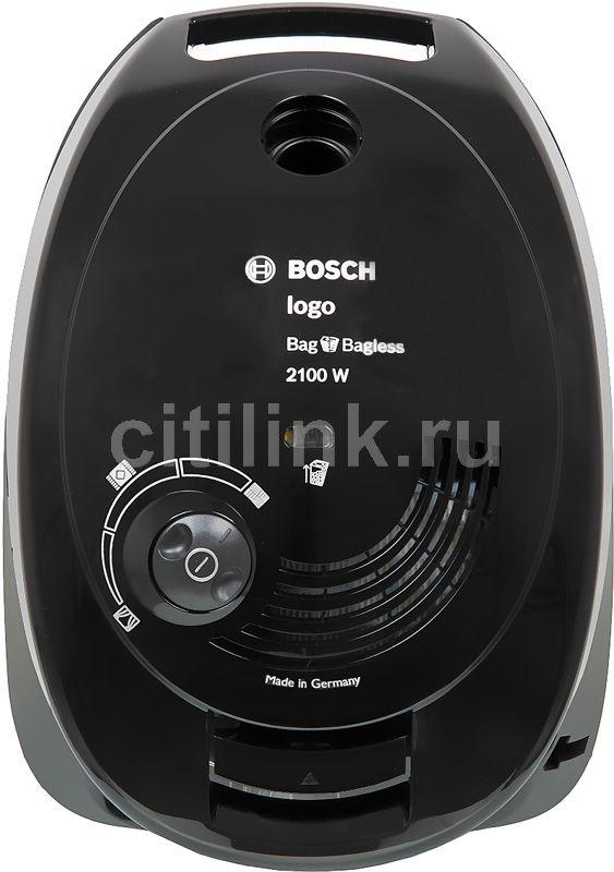 Пылесос BOSCH BSG62185, 2100Вт, черный
