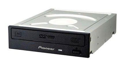 Оптический привод DVD-RW PIONEER DVR-S18LBK, внутренний, SATA, черный,  Ret