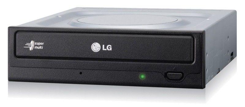 Оптический привод DVD-RW LG GH24NS50, внутренний, SATA, черный,  OEM [gh24ns50.auaa10b]