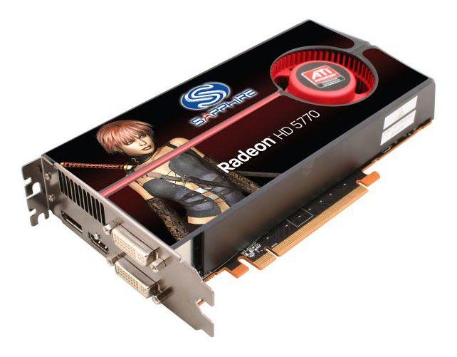 Видеокарта SAPPHIRE Radeon HD 5770,  1Гб, DDR5, Ret [1163-xx-50r]