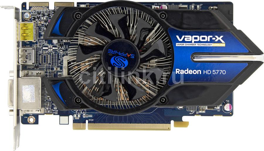 Видеокарта SAPPHIRE Radeon HD 5770,  1Гб, GDDR5, OC,  lite [11163-xx-20r]