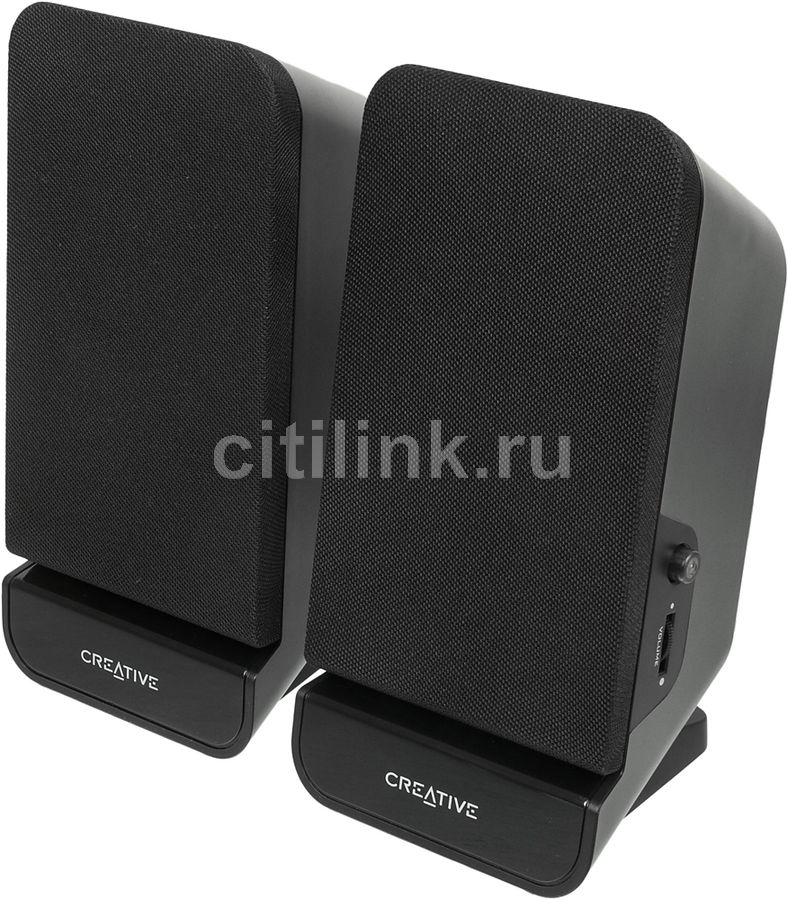 Колонки CREATIVE SBS A60, черный [51mf1635aa000] creative a60 black