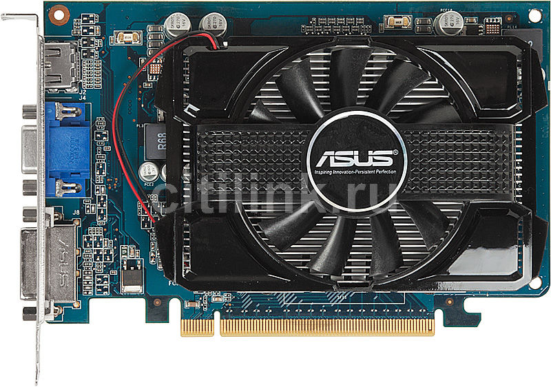 Видеокарта ASUS GeForce GT 240,  1Гб, DDR3, Ret [engt240/di/1gd3/a]
