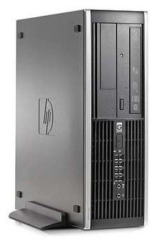 HP Elite 8000SFF,  Intel  Core2 Duo  E8400,  DDR3 2Гб, 320Гб,  Intel GMA X4500,  DVD-RW,  Windows 7 Professional,  черный [wb657ea]