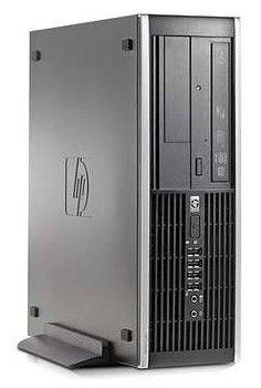 HP Elite 8000SFF,  Intel  Core2 Duo  E8500,  DDR3 3Гб, 320Гб,  Intel GMA X4500,  DVD-RW,  Windows 7 Professional,  черный [wb659ea]