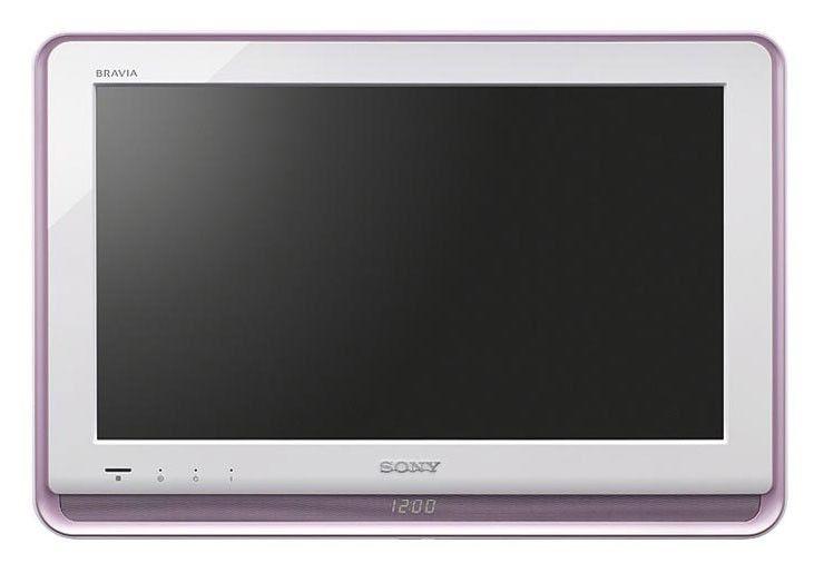 Телевизор ЖК SONY KLV-22S570A  HD READY (720p),  белый/ коричневый