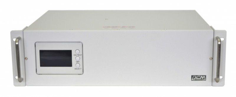 Источник бесперебойного питания POWERCOM Smart King RM SMK-3000A RM LCD,  3000ВA [rmk-3000-6c0-2440]