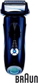 Электробритва BRAUN 730,  черный и синий