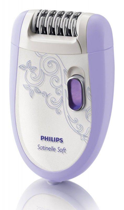 Эпилятор PHILIPS HP6509/01 фиолетовый