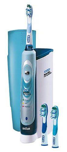 Электрическая зубная щетка BRAUN Oral-B Sonic S18 синий [s18.525.3]