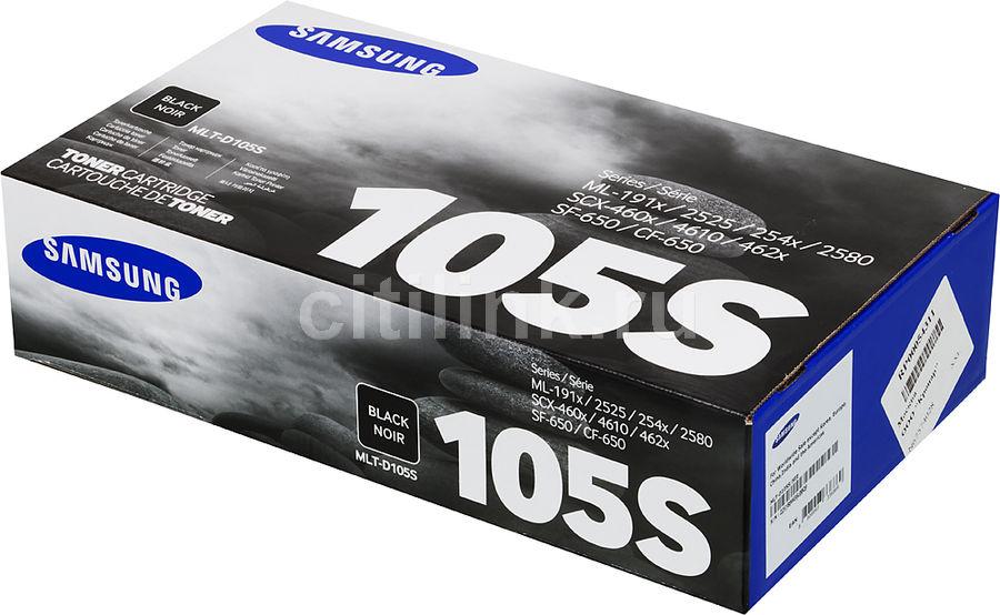 Картридж SAMSUNG MLT-D105S черный [mlt-d105s/see]