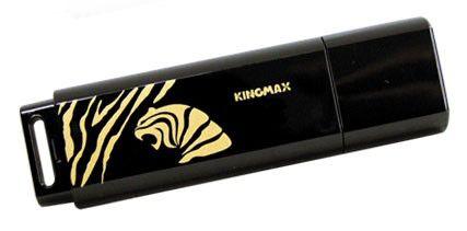 Флешка USB KINGMAX Pop 2010 Tiger 2Гб, USB2.0, черный и золотистый [pd07]