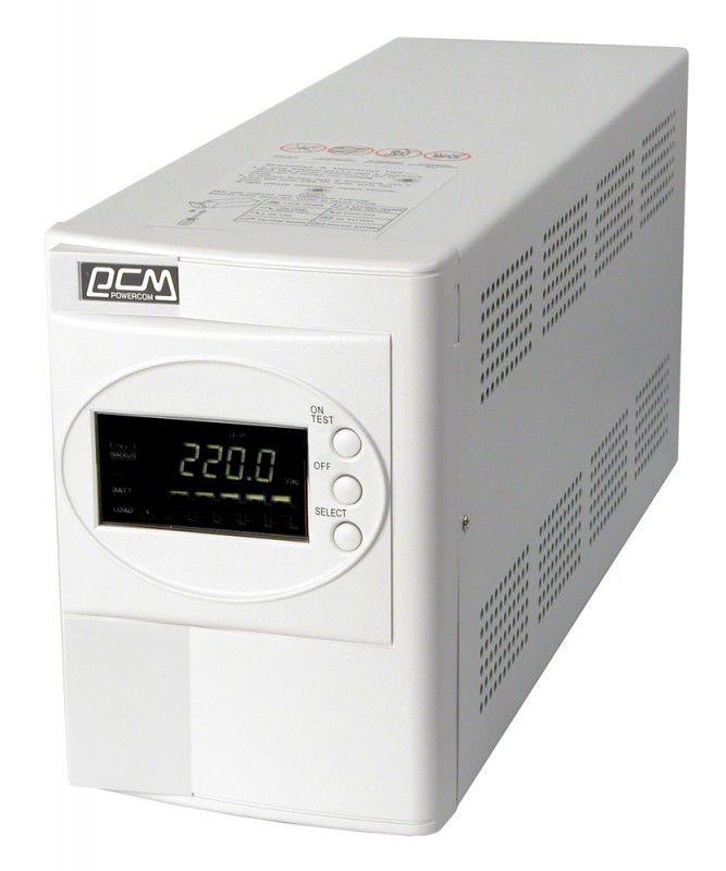 Источник бесперебойного питания POWERCOM Smart King SMK-1000A LCD,  1000ВA [smk-01kg-8c0-0011]