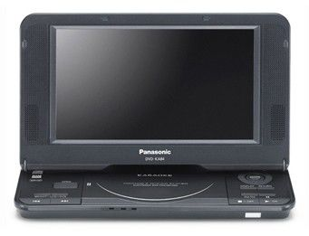Портативный плеер PANASONIC DVD-KA84EE-K, 8
