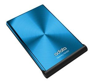Внешний жесткий диск A-DATA ANH92-320GU-CBL, 320Гб, голубой