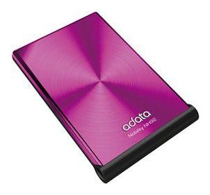 Внешний жесткий диск A-DATA ANH92-250GU-CPK, 250Гб, розовый