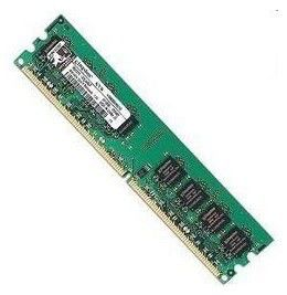Модуль памяти KINGSTON VALUERAM KVR800D2N6/2G-BK DDR2 -  2Гб 800, DIMM,  OEM