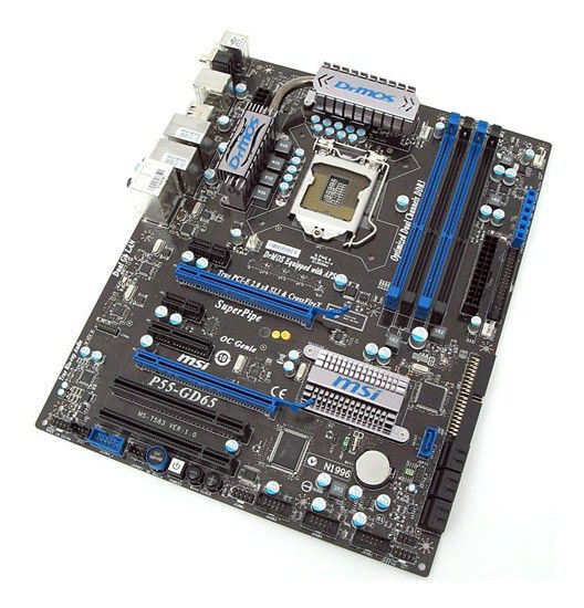 Материнская плата MSI MSI P55-GD65 LGA 1156, ATX, Ret