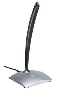Микрофон LOGITECH USB Desktop Microphone,  черный [980186-0914]