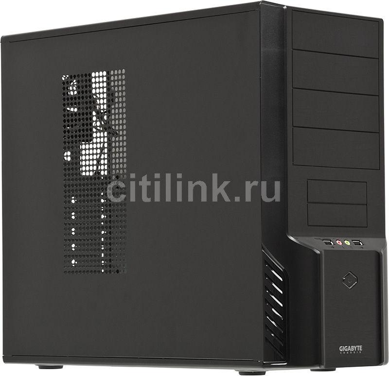 Корпус ATX GIGABYTE Luxo X142, Midi-Tower, без БП,  черный