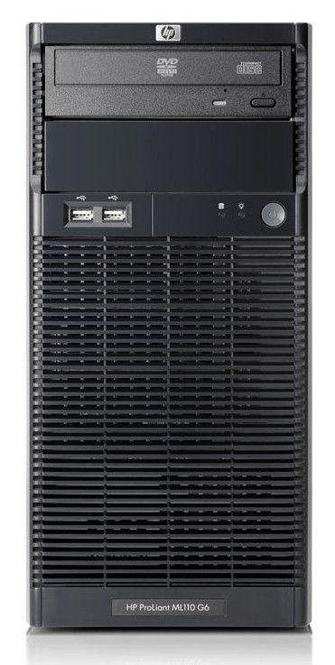 Сервер HP ML110 G6 X3450 NHP SATA EU Svr (506668-421)