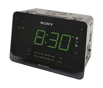 Радиобудильник SONY ICF-C414S, черный