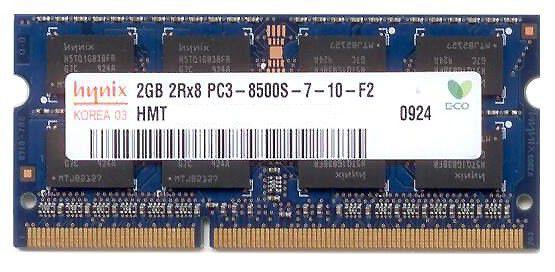 Модуль памяти HYNIX DDR3 -  2Гб 1066, DIMM,  OEM