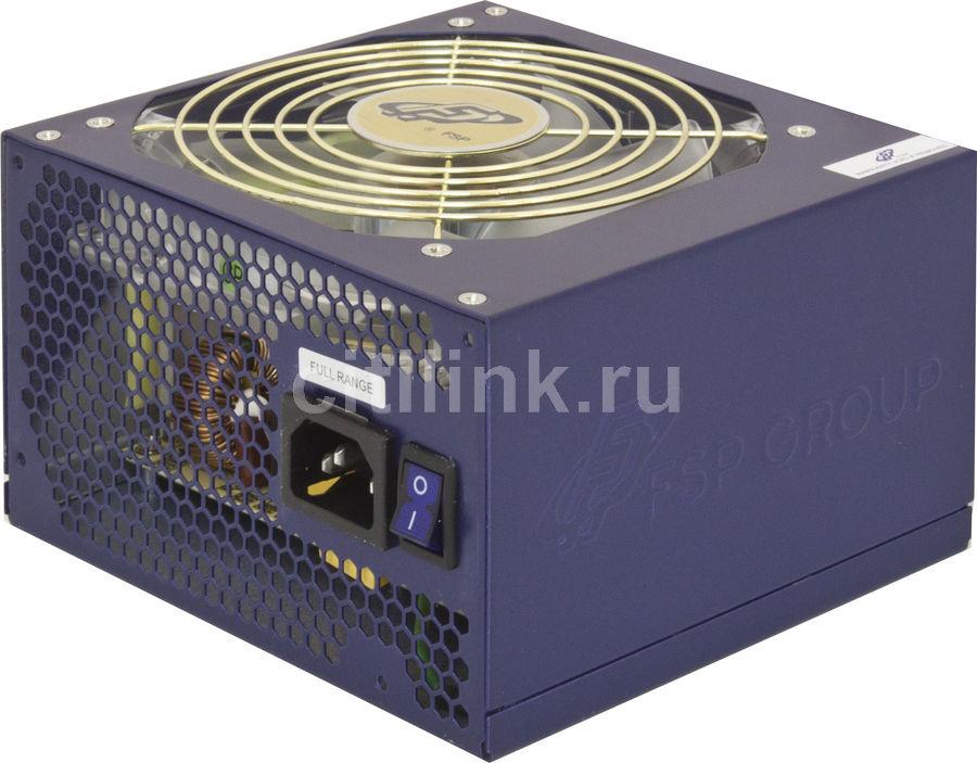 Блок питания FSP Epsilon 85 PLUS 600,  600Вт,  120мм,  синий, retail