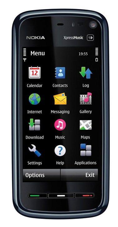Смартфон NOKIA 5800  красный