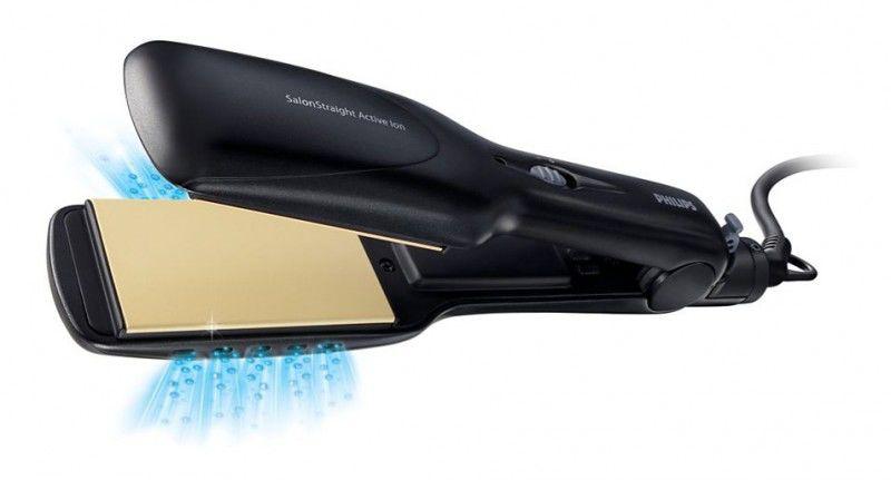 Выпрямитель для волос PHILIPS HP4638,  черный